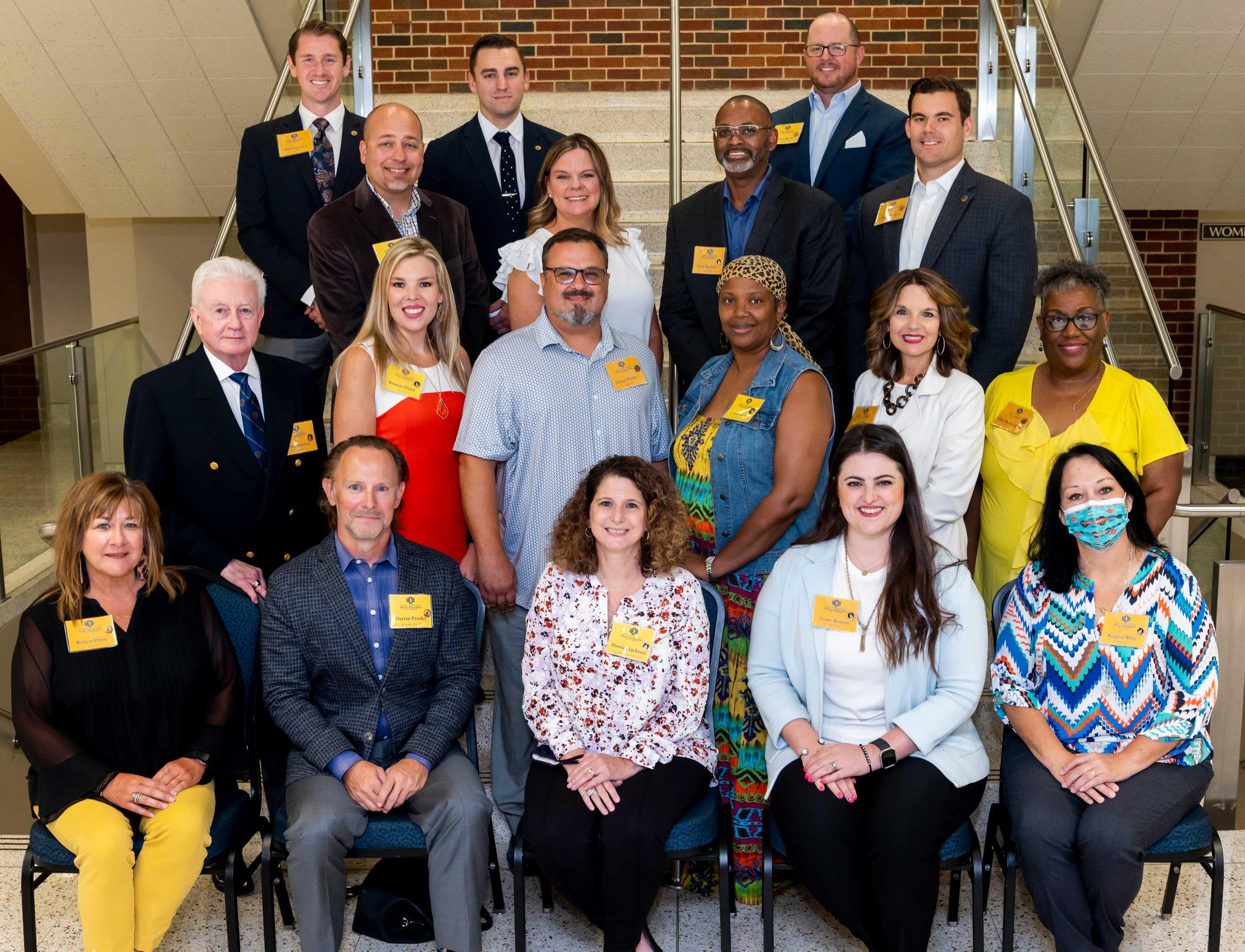 Photo of 2021-22 Alumni Association Board of Directors