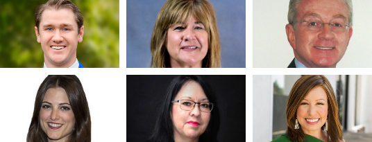 Head shots of new Alumni Board of Directors members