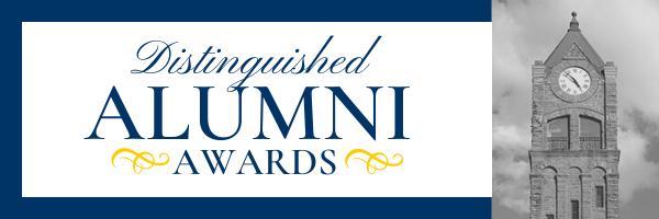 Distinguished Alumni Awards web header