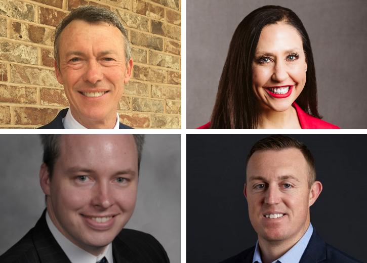 Head shots of new Board of Trustees
