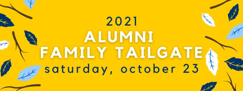 Alumni Family Tailgate web header
