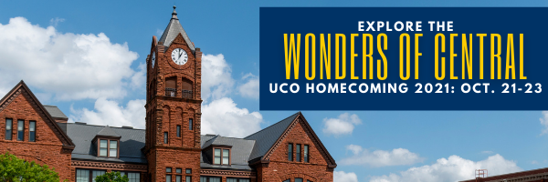 Web header image of Old North with 2021 Homecoming dates