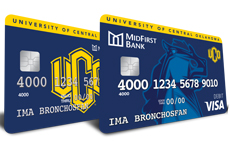 MidFirst Bank Debit Credit Cards