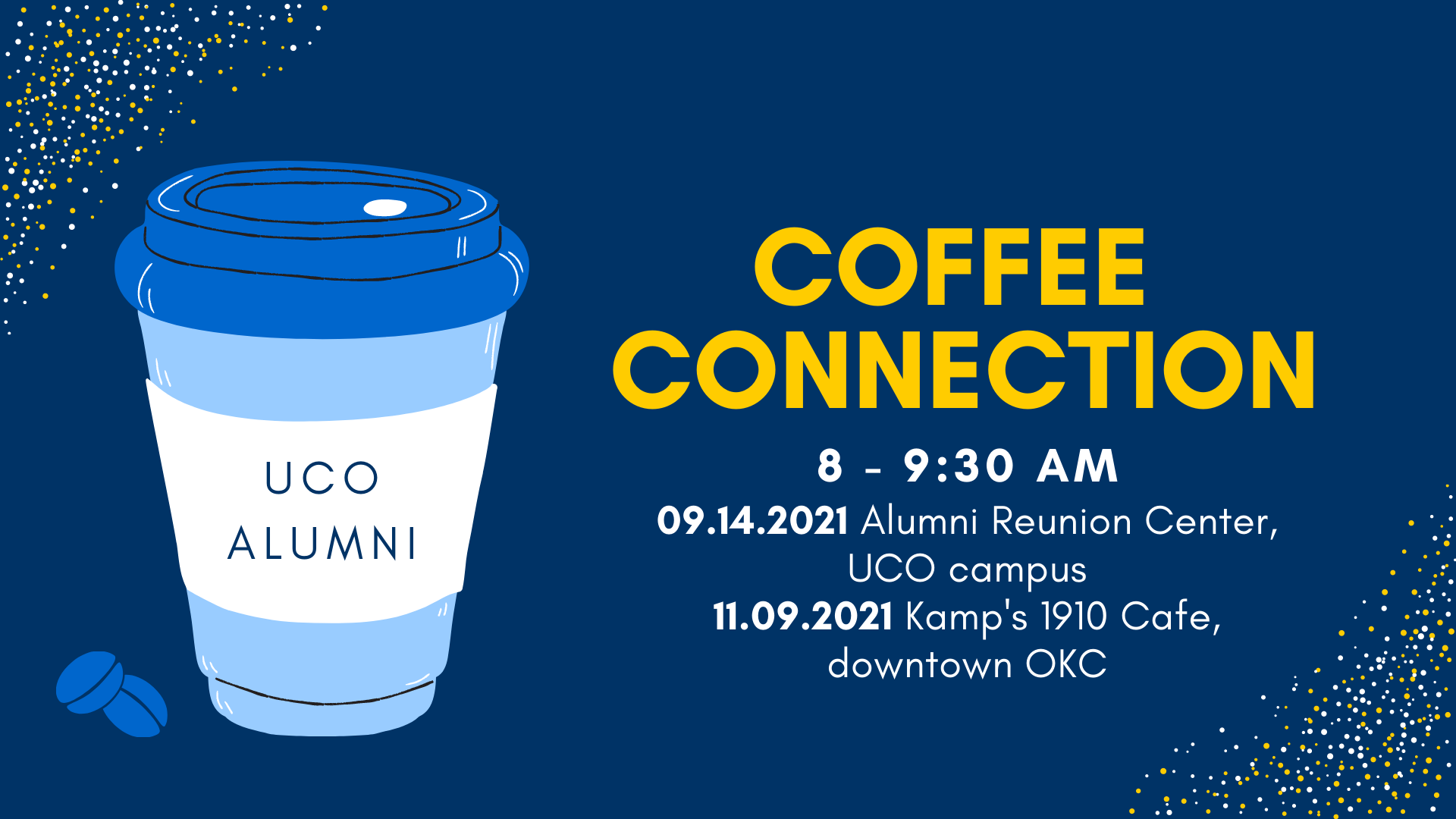 Fall 2021 Coffee Connections