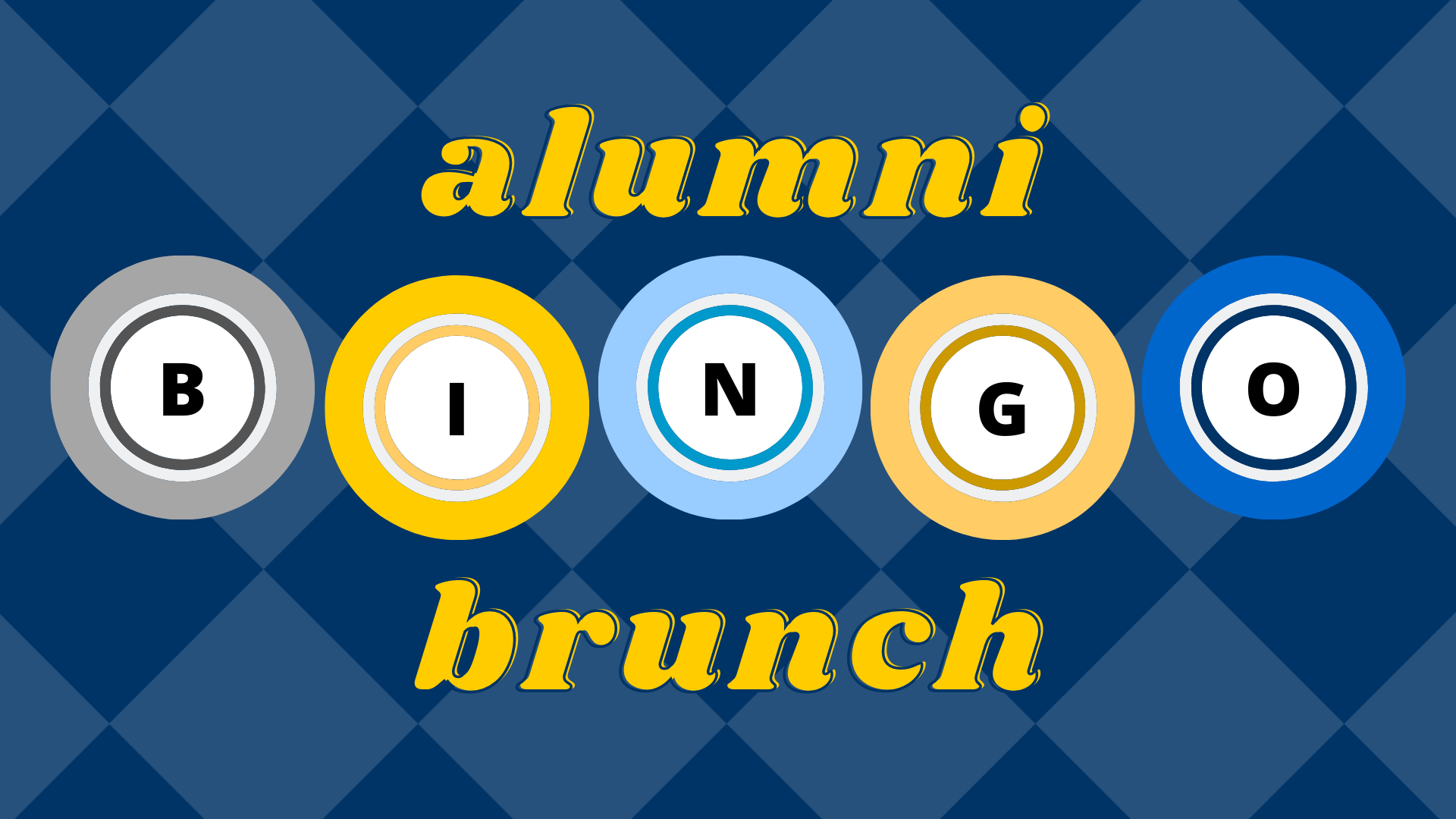Alumni Bingo Brunch