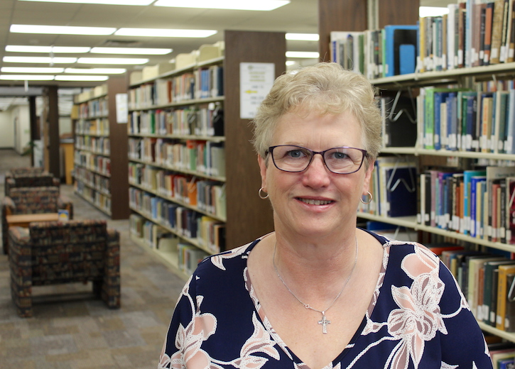 Michele Ramsdell in UCO Library